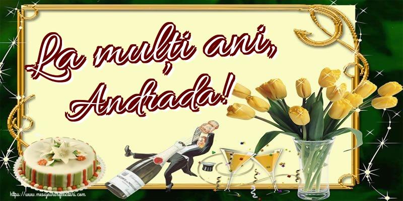 Cele mai apreciate felicitari de Sfantul Andrei - La mulți ani, Andrada!