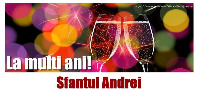 Cele mai apreciate felicitari de Sfantul Andrei - La multi ani! Sfantul Andrei