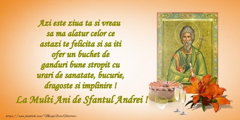 Felicitari de Sfantul Andrei - La multi ani, de sfantul Andrei!