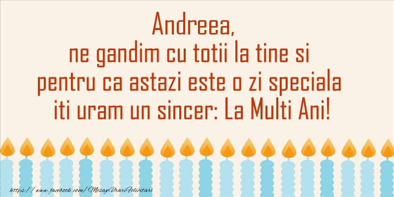 Cele mai apreciate felicitari de Sfantul Andrei - Andreea, ne gandim cu totii la tine si pentru ca astazi este o zi speciala iti uram un sincer La Multi Ani!