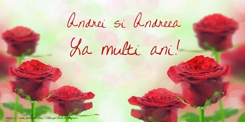Cele mai apreciate felicitari de Sfantul Andrei - Andrei si Andreea