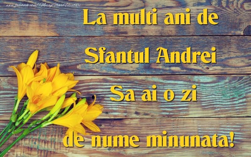 Cele mai apreciate felicitari de Sfantul Andrei - Sfantul Andrei