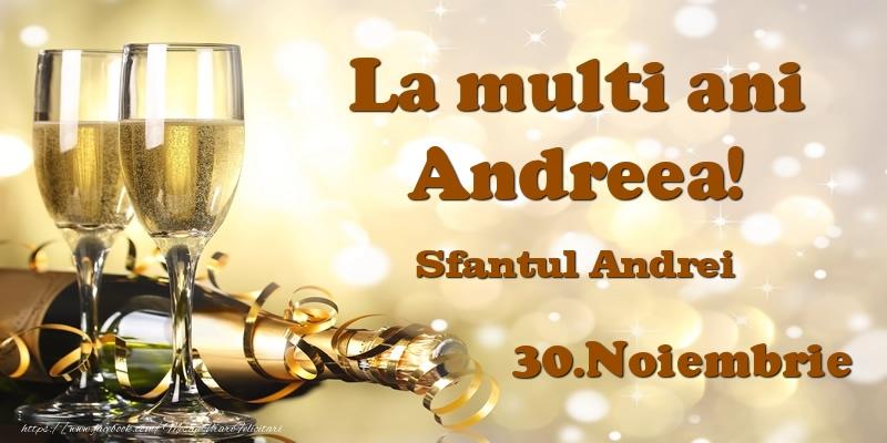 30.Noiembrie Sfantul Andrei La multi ani, Andreea!