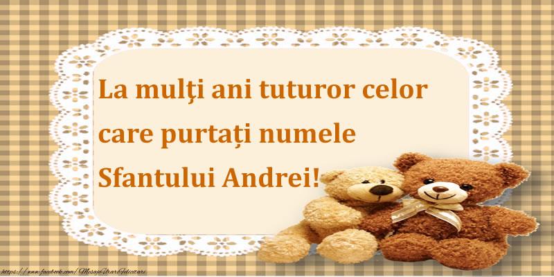 Cele mai apreciate felicitari de Sfantul Andrei - La mulţi ani tuturor celor care purtați numele Sfantului Andrei!