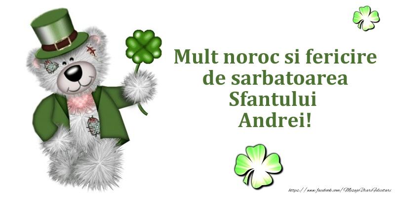 Cele mai apreciate felicitari de Sfantul Andrei - Mult noroc si fericire de sarbatoarea Sfantului Andrei!