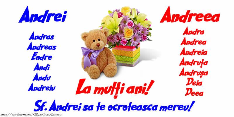 Cele mai apreciate felicitari de Sfantul Andrei - Felicitare de Sf. Andrei cu numele sarbatorite