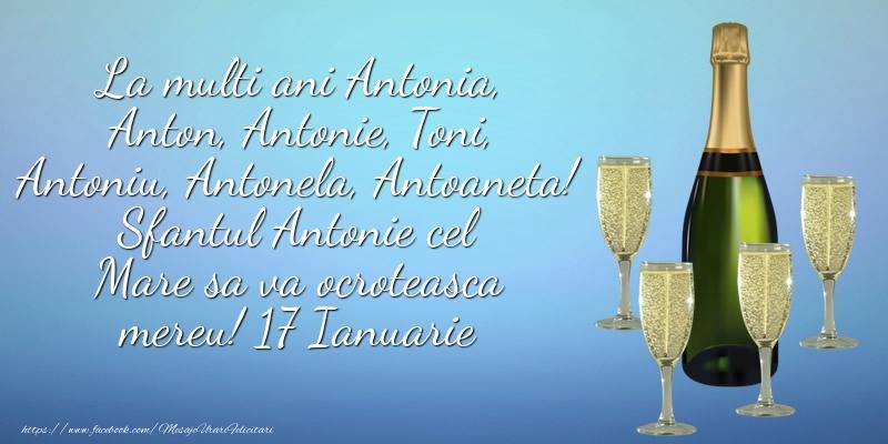 Cele mai apreciate felicitari de Sfantul Antonie cel Mare - Sfantul Antonie cel Mare sa va ocroteasca mereu! 17 Ianuarie