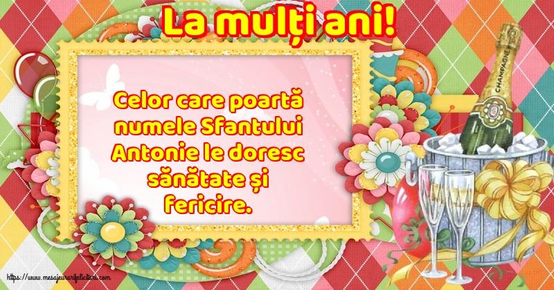 Cele mai apreciate felicitari de Sfantul Antonie cel Mare - La mulți ani!