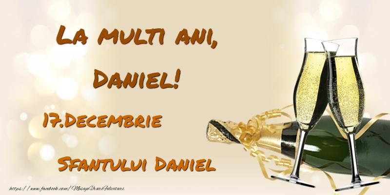 Felicitari de Sfantul Daniel - La multi ani, Daniel! 17.Decembrie - Sfantului Daniel