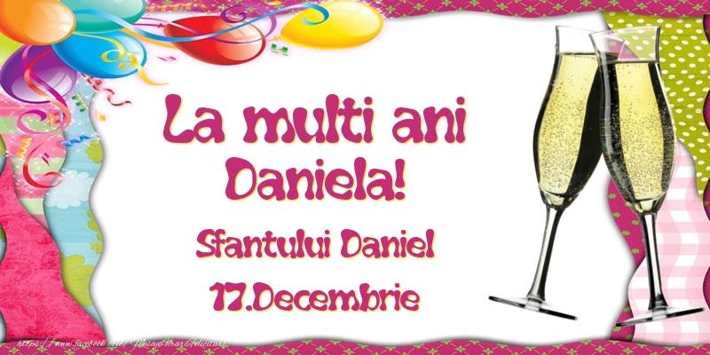 Felicitari de Sfantul Daniel - La multi ani, Daniela! Sfantului Daniel - 17.Decembrie