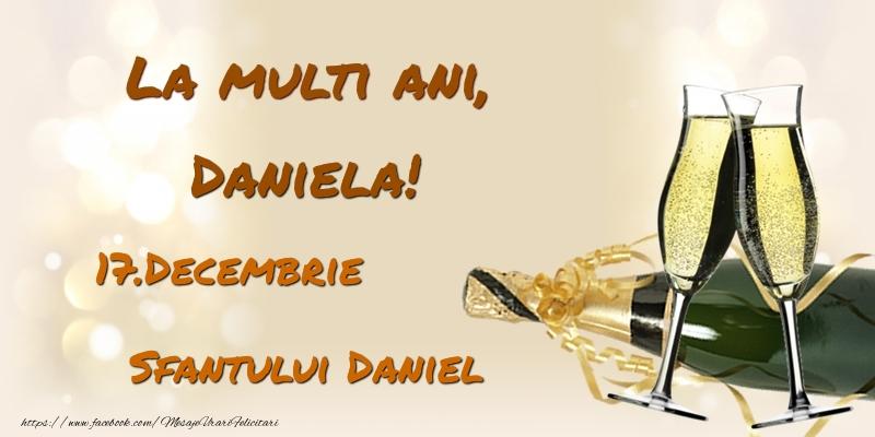 Felicitari de Sfantul Daniel - La multi ani, Daniela! 17.Decembrie - Sfantului Daniel