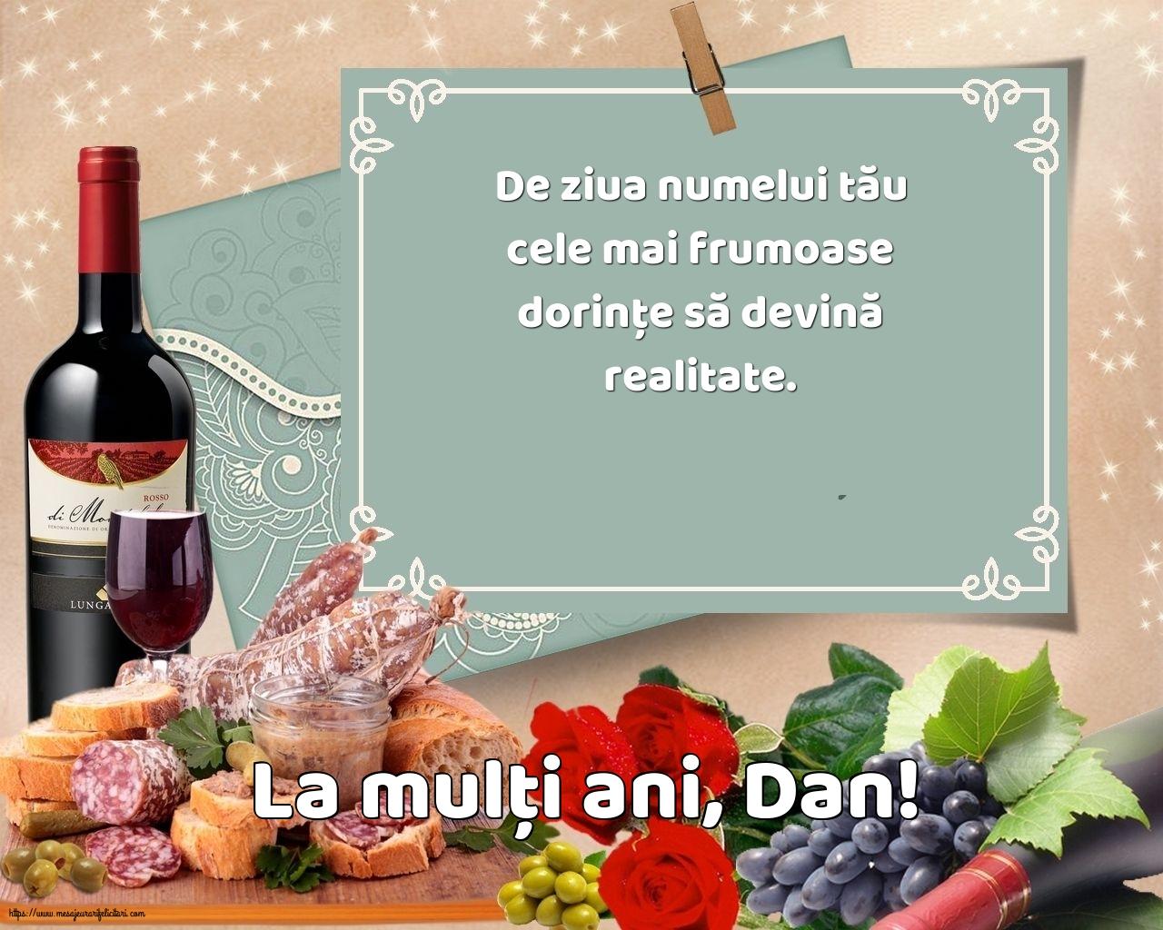 Felicitari de Sfantul Daniel - La mulți ani, Dan!