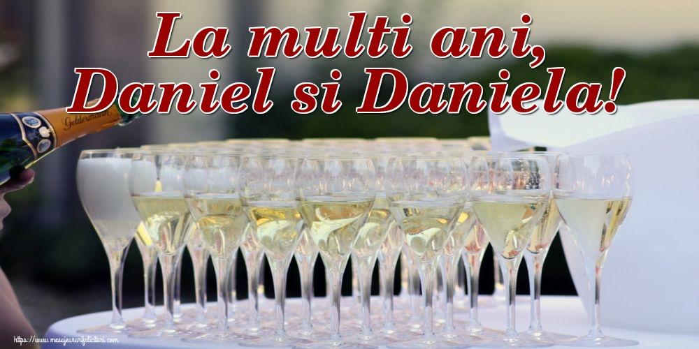 Felicitari de Sfantul Daniel - La multi ani, Daniel si Daniela!