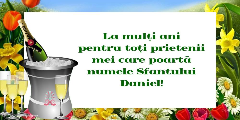Felicitari de Sfantul Daniel - La mulți ani de Sfantul Daniel!