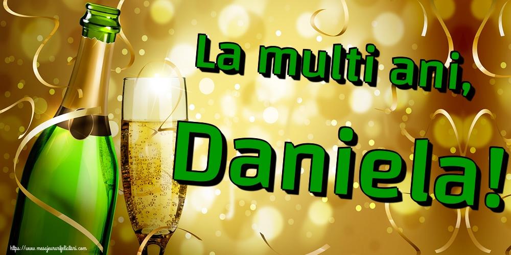Felicitari de Sfantul Daniel - La multi ani, Daniela!