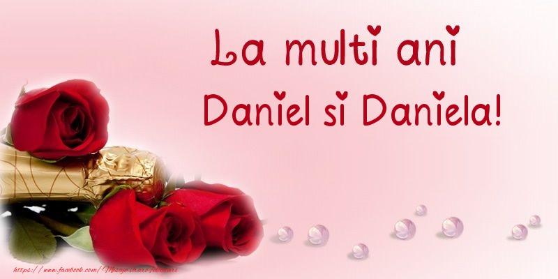 La multi ani Daniel si Daniela!