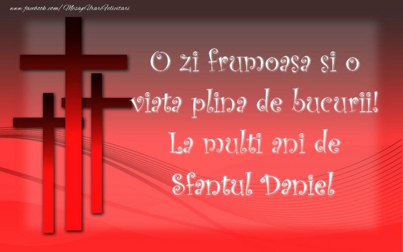 Felicitari de Sfantul Daniel - Sfantul Daniel