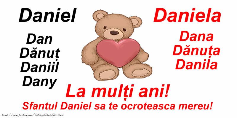 Sfantul Daniel La mulți ani! Sf. Daniel sa te ocroteasca mereu!