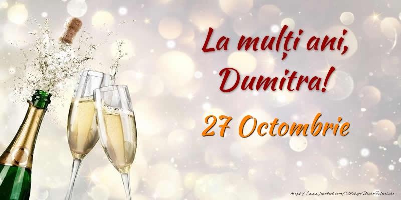 Felicitari de Sfantul Dumitru - La multi ani, Dumitra! 27 Octombrie