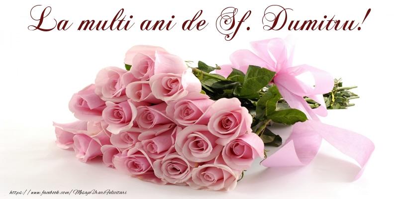 Felicitari de Sfantul Dumitru - La multi ani de Sf. Dumitru! - mesajeurarifelicitari.com