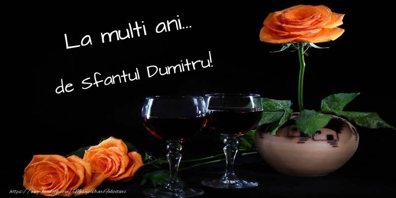 Felicitari de Sfantul Dumitru - La multi ani... de Sfantul Dumitru! - mesajeurarifelicitari.com