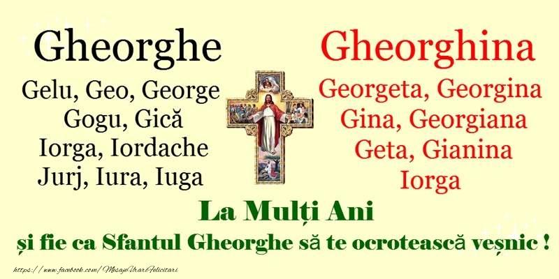 Sfantul Gheorghe La multi ani de Sfantul Gheorghe!