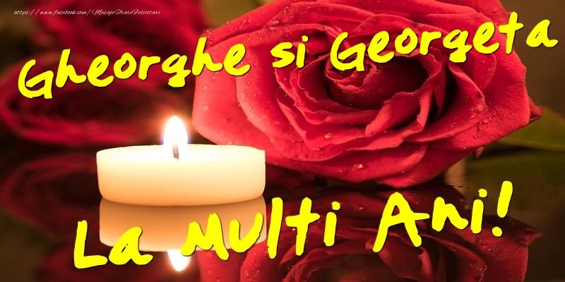 Felicitari de Sfantul Gheorghe - Gheorghe si Georgeta  - La multi ani! - mesajeurarifelicitari.com