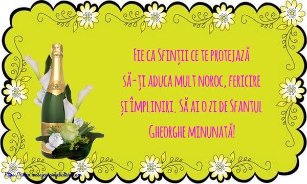 Felicitari de Sfantul Gheorghe cu mesaje - Să ai o zi de Sfantul Gheorghe minunată!