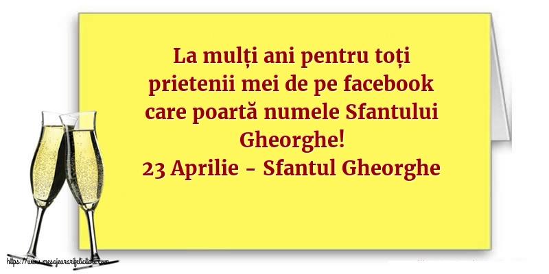 Felicitari de Sfantul Gheorghe cu mesaje - 23 Aprilie - 23 Aprilie - Sfantul Gheorghe
