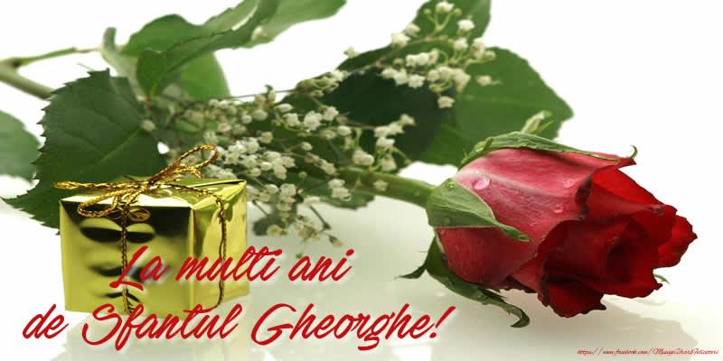 La multi ani de Sfantul Gheorghe!