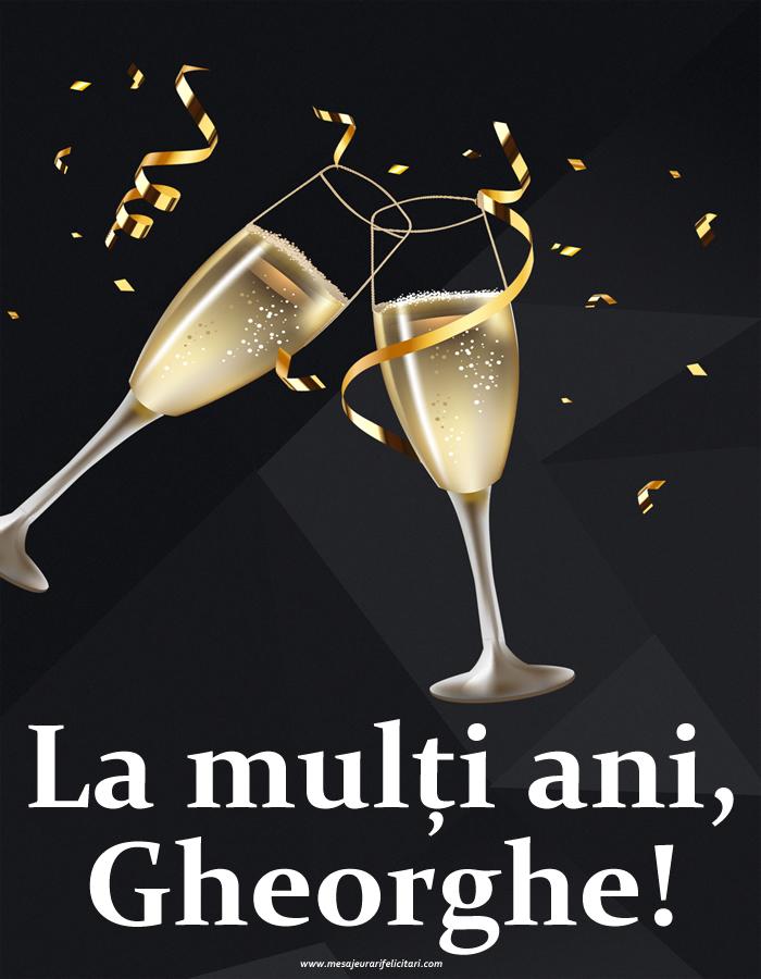 Felicitari de Sfantul Gheorghe - La mulți ani, Gheorghe!