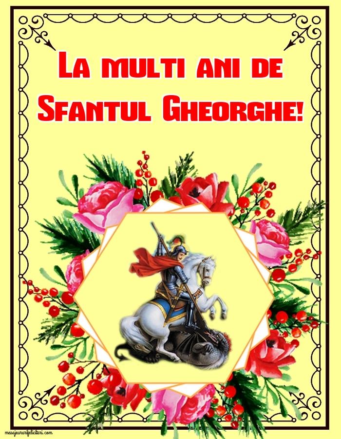 Felicitari de Sfantul Gheorghe 2019