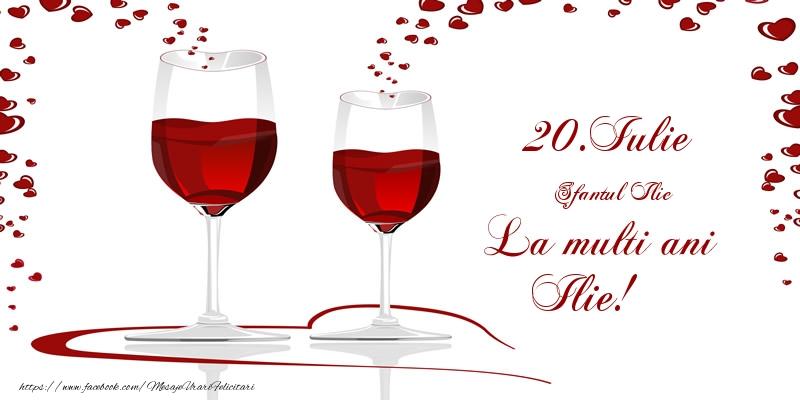 Felicitari de Sfantul Ilie - 20.Iulie La multi ani Ilie!