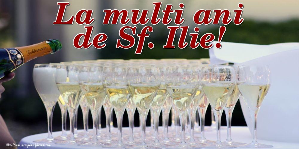 La multi ani de Sf. Ilie!