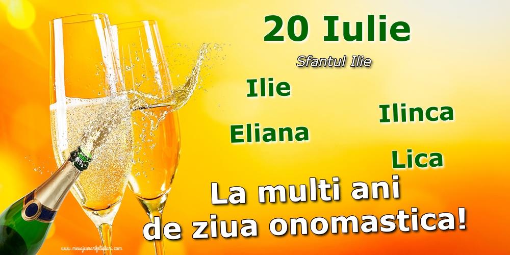 20 Iulie - Sfantul Ilie