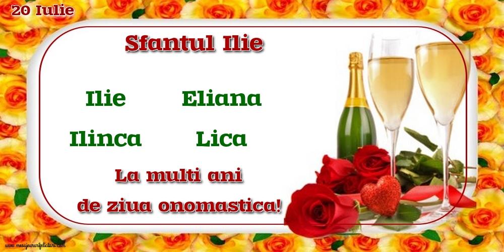 Felicitari de Sfantul Ilie - 20 Iulie - Sfantul Ilie