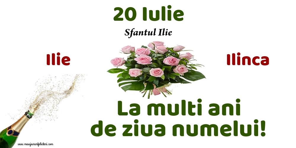 Felicitari de Sfantul Ilie - 20 Iulie - Sfantul Ilie - mesajeurarifelicitari.com