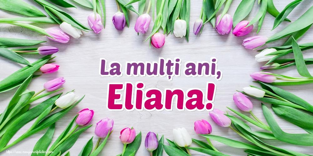 Felicitari de Sfantul Ilie - La mulți ani, Eliana!