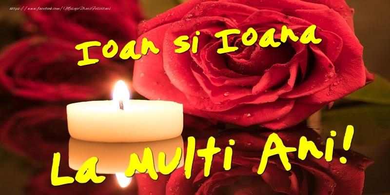 Felicitari de Sfantul Ioan - Ioan si Ioana  - La multi ani! - mesajeurarifelicitari.com
