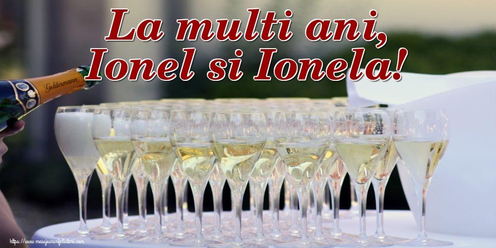Cele mai apreciate felicitari de Sfantul Ioan - La multi ani, Ionel si Ionela!