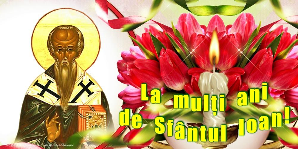 Cele mai apreciate felicitari de Sfantul Ioan - La mulți ani de Sfântul Ioan!