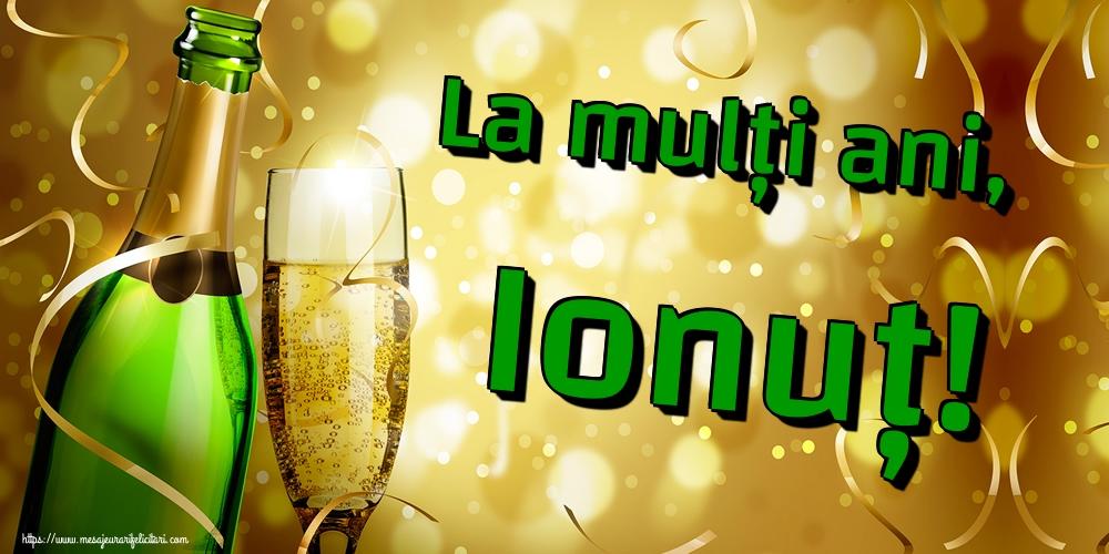 Felicitari de Sfantul Ioan - La mulți ani, Ionuț!
