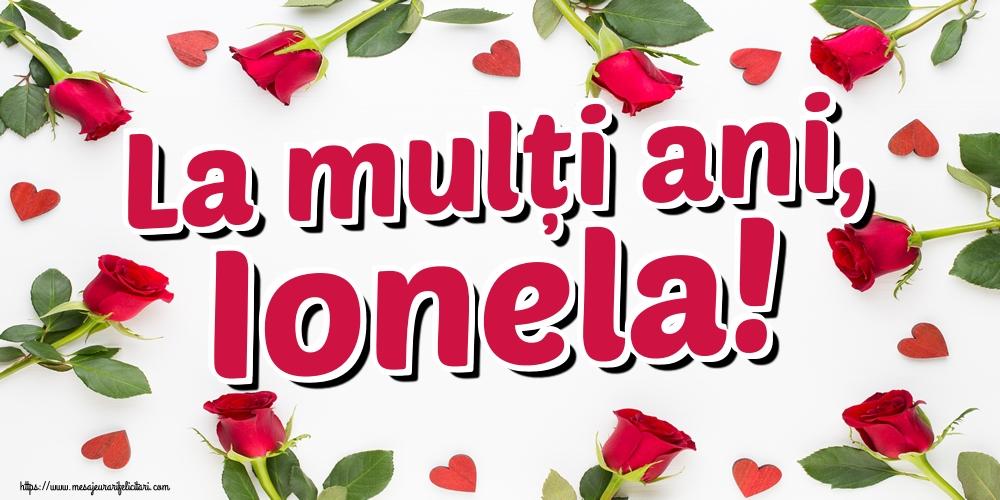 Cele mai apreciate felicitari de Sfantul Ioan - La mulți ani, Ionela!