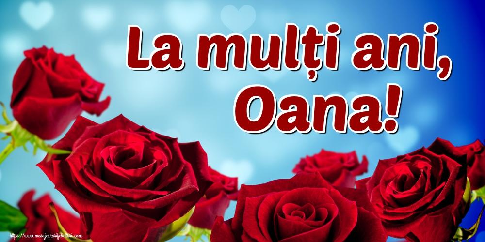 Felicitari de Sfantul Ioan - La mulți ani, Oana! - mesajeurarifelicitari.com