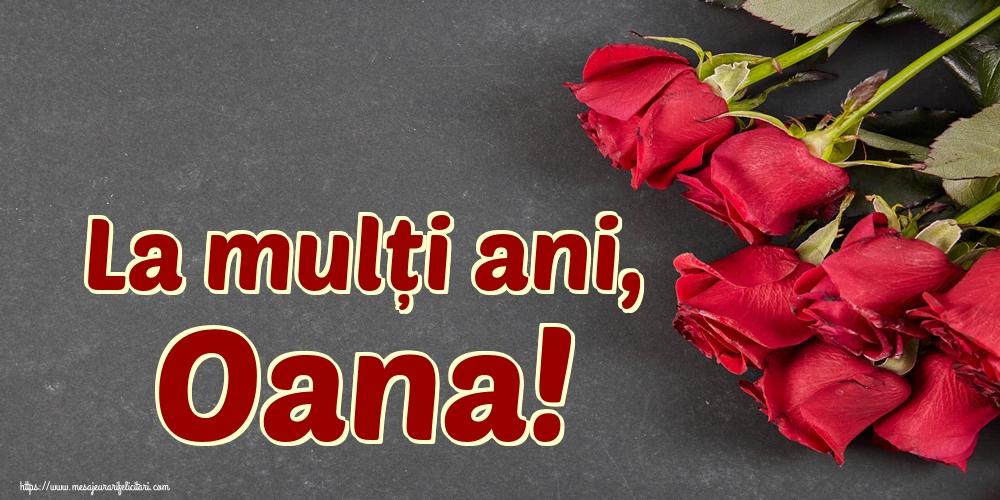 Felicitari de Sfantul Ioan - La mulți ani, Oana!