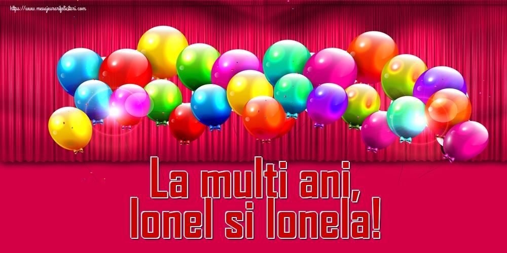 Felicitari de Sfantul Ioan - La multi ani, Ionel si Ionela!
