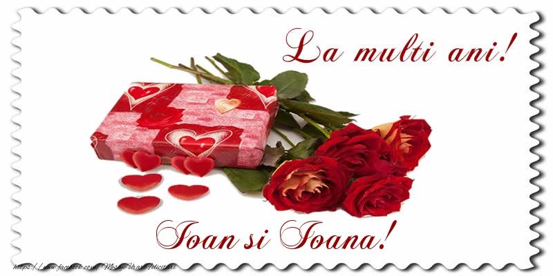 Felicitari de Sfantul Ioan - La multi ani! Ioan si Ioana