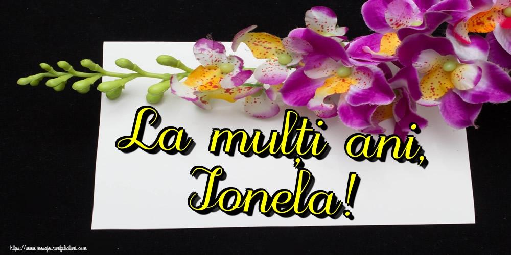 Felicitari de Sfantul Ioan - La mulți ani, Ionela!