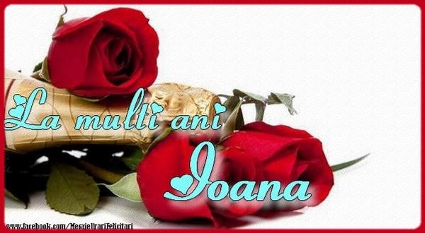 Felicitari de Sfantul Ioan - La multi ani Ioana - mesajeurarifelicitari.com