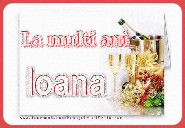 Cele mai apreciate felicitari de Sfantul Ioan - La multi ani Ioana